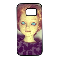 Freckley Boy Samsung Galaxy S7 Black Seamless Case by snowwhitegirl