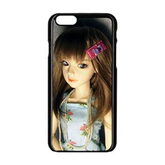 Mary Apple Iphone 6/6s Black Enamel Case by snowwhitegirl