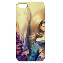 Galaxy Gals Apple Iphone 5 Hardshell Case With Stand by snowwhitegirl