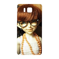 Red Braids Girl Samsung Galaxy Alpha Hardshell Back Case by snowwhitegirl