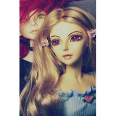 Doll Couple 5 5  X 8 5  Notebooks by snowwhitegirl