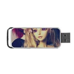 Doll Couple Portable Usb Flash (one Side) by snowwhitegirl