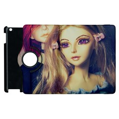 Doll Couple Apple Ipad 3/4 Flip 360 Case by snowwhitegirl