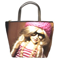 Cover Girl Bucket Bags by snowwhitegirl