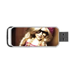 Cover Girl Portable Usb Flash (two Sides) by snowwhitegirl