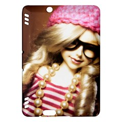 Cover Girl Kindle Fire Hdx Hardshell Case by snowwhitegirl