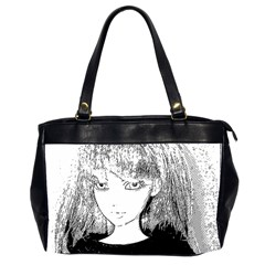 Girl Office Handbags (2 Sides)  by snowwhitegirl