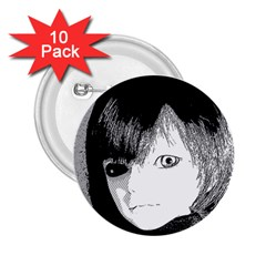 Boy 2 25  Buttons (10 Pack)  by snowwhitegirl
