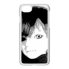Boy Apple Iphone 7 Seamless Case (white) by snowwhitegirl