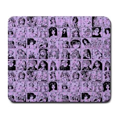 Lilac Yearbok Large Mousepads by snowwhitegirl