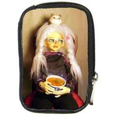 Eating Lunch Compact Camera Cases by snowwhitegirl