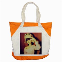 Captain Accent Tote Bag by snowwhitegirl