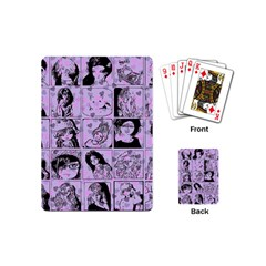 Lilac Yearbook 2 Playing Cards (mini)  by snowwhitegirl