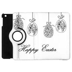 Easter Eggs Apple Ipad Mini Flip 360 Case by Valentinaart