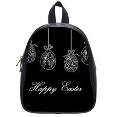 Easter Eggs School Bag (small) by Valentinaart