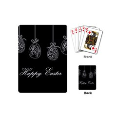Easter Eggs Playing Cards (mini)  by Valentinaart