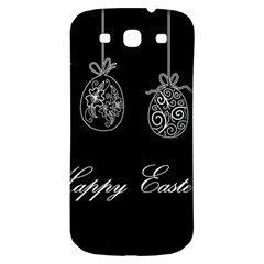 Easter Eggs Samsung Galaxy S3 S Iii Classic Hardshell Back Case by Valentinaart