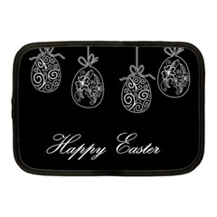 Easter Eggs Netbook Case (medium)  by Valentinaart