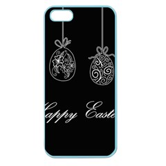 Easter Eggs Apple Seamless Iphone 5 Case (color) by Valentinaart