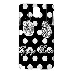 Easter Eggs Samsung Galaxy Note 3 N9005 Hardshell Case by Valentinaart