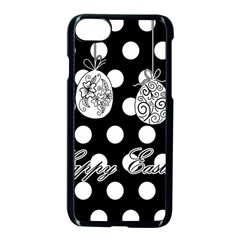 Easter Eggs Apple Iphone 7 Seamless Case (black) by Valentinaart