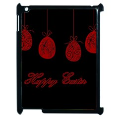 Easter Eggs Apple Ipad 2 Case (black) by Valentinaart