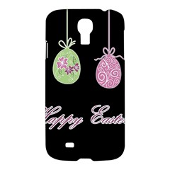 Easter Eggs Samsung Galaxy S4 I9500/i9505 Hardshell Case by Valentinaart