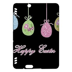 Easter Eggs Kindle Fire Hdx Hardshell Case by Valentinaart