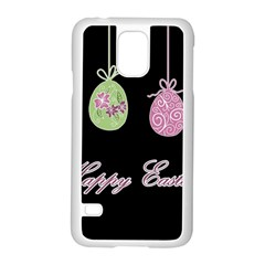 Easter Eggs Samsung Galaxy S5 Case (white) by Valentinaart