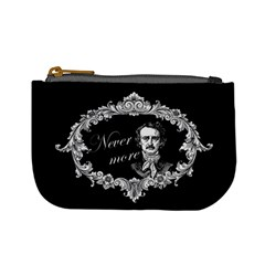 Edgar Allan Poe    Never More Mini Coin Purses by Valentinaart