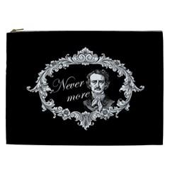 Edgar Allan Poe    Never More Cosmetic Bag (xxl)  by Valentinaart