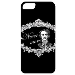 Edgar Allan Poe    Never More Apple Iphone 5 Classic Hardshell Case by Valentinaart