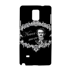 Edgar Allan Poe    Never More Samsung Galaxy Note 4 Hardshell Case by Valentinaart