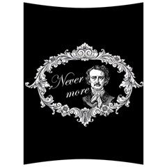 Edgar Allan Poe    Never More Back Support Cushion by Valentinaart