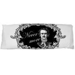 Edgar Allan Poe    Never More Body Pillow Case (dakimakura) by Valentinaart