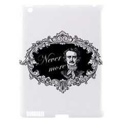 Edgar Allan Poe    Never More Apple Ipad 3/4 Hardshell Case (compatible With Smart Cover) by Valentinaart