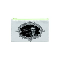 Edgar Allan Poe    Never More Cosmetic Bag (xs) by Valentinaart