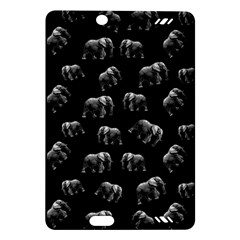 Elephant Pattern Amazon Kindle Fire Hd (2013) Hardshell Case by Valentinaart