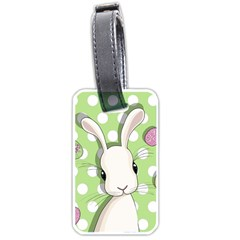 Easter Bunny  Luggage Tags (two Sides) by Valentinaart