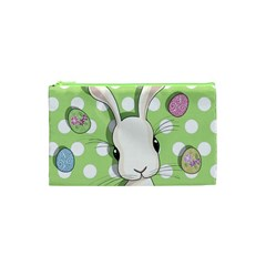 Easter Bunny  Cosmetic Bag (xs) by Valentinaart