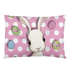 Easter Bunny  Pillow Case by Valentinaart