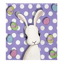 Easter Bunny  Shower Curtain 66  X 72  (large)  by Valentinaart