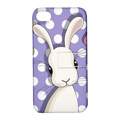 Easter Bunny  Apple Iphone 4/4s Hardshell Case With Stand by Valentinaart