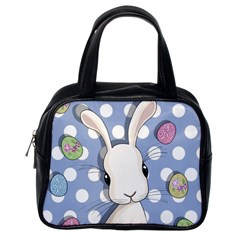 Easter Bunny  Classic Handbags (one Side) by Valentinaart