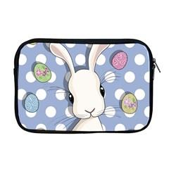 Easter Bunny  Apple Macbook Pro 17  Zipper Case by Valentinaart