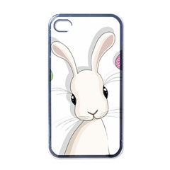 Easter Bunny  Apple Iphone 4 Case (black) by Valentinaart