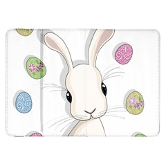 Easter Bunny  Samsung Galaxy Tab 8 9  P7300 Flip Case by Valentinaart