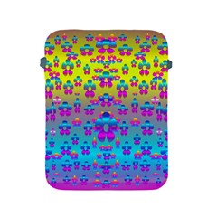 Flowers In The Most Beautiful Sunshine Apple Ipad 2/3/4 Protective Soft Cases by pepitasart