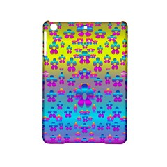 Flowers In The Most Beautiful Sunshine Ipad Mini 2 Hardshell Cases by pepitasart