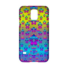Flowers In The Most Beautiful Sunshine Samsung Galaxy S5 Hardshell Case  by pepitasart
